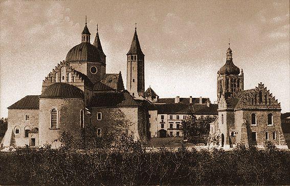 Płock - Fotogaleria miasta Płocka - XIX w. - 1939 r./Katedra od strony wschodniej lata 20-te
