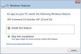 Tips Cara Mudah Install .NET Framework 3.5 Offline di Windows 8