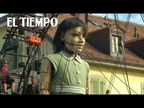 Las marionetas gigantes de Ginebra que asombran por su realismo | EL TIEMPO - YouTube