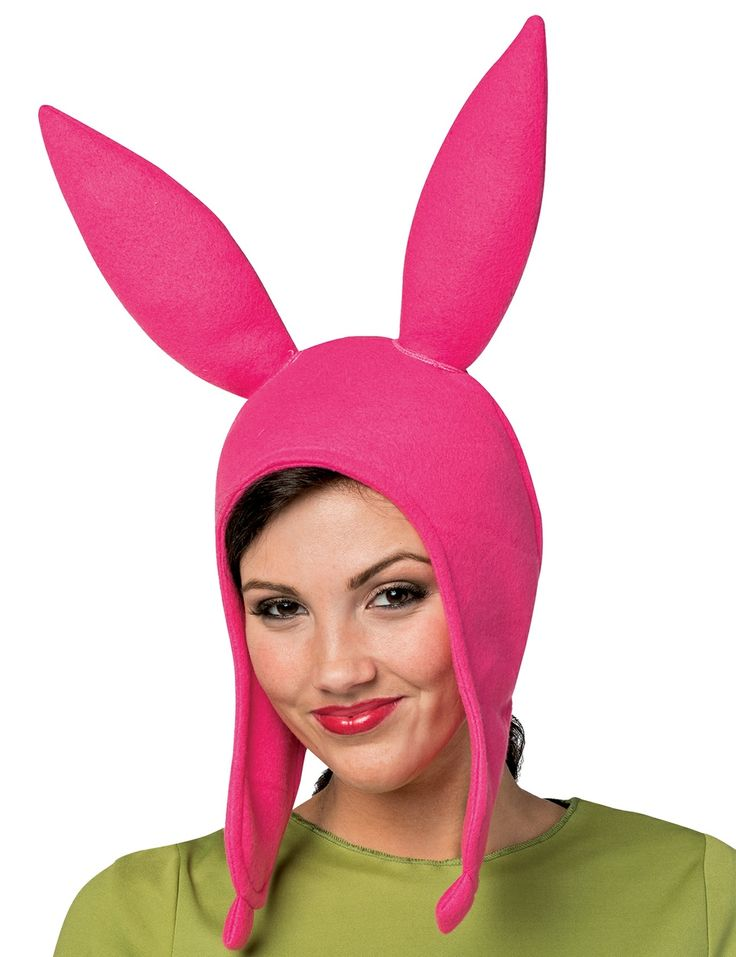 Bob's Burgers Louise Pink Bunny Ears Hat