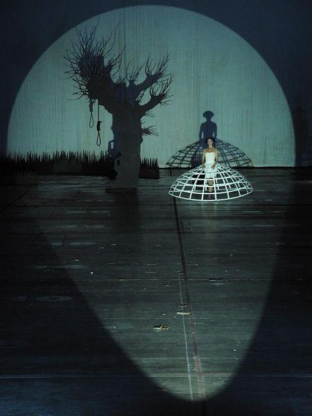 John Cage: Europeras 1 & 2 Ruhrtriennale 2012, set design and lighting - Klaus Grünberg