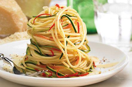 Spaghetti Primavera : Healthy Pasta Recipes