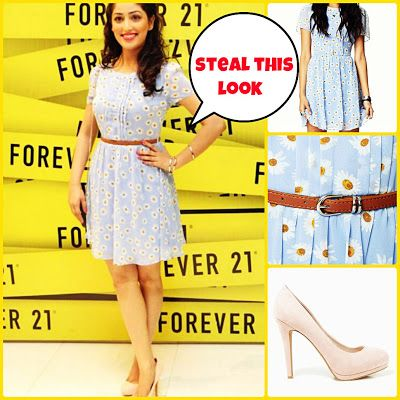 Get the Forever 21 look of Yami Gautam! http://fashion001lover.blogspot.in/2013/08/get-forever-21-look-of-yami-gautam.html
