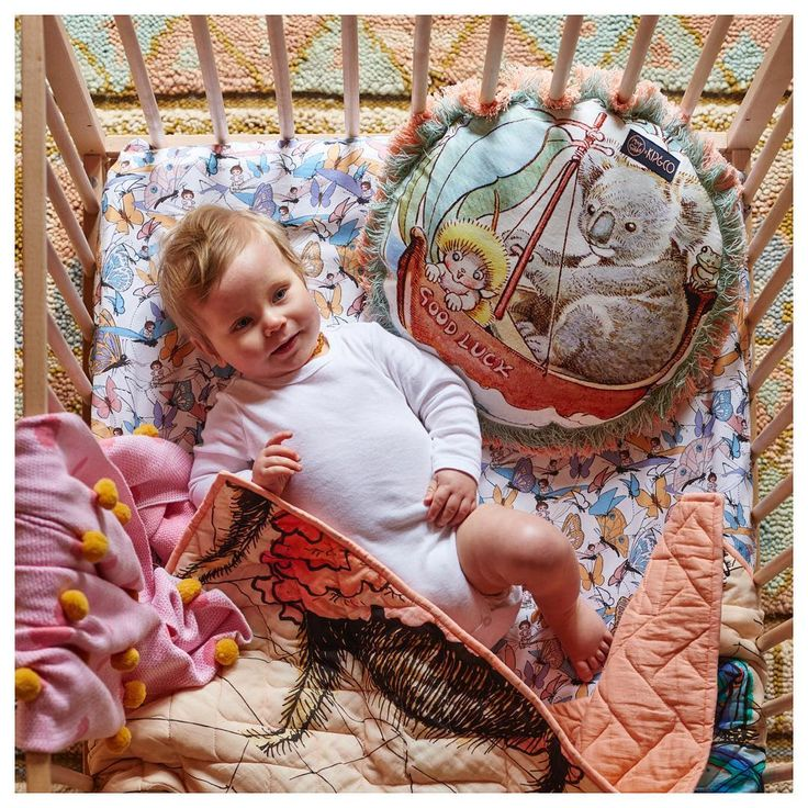 The limited edition May Gibbs x Kip & Co range is deservedly popular. How divine is this fitted Flutter sheet. Check out the range now at Young Willow to welcome a new baby in style or treat your own little love.