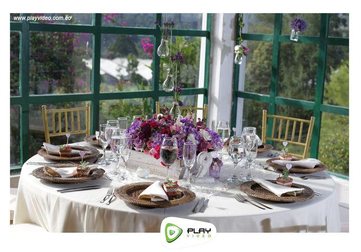 Centros de mesa boda campestre