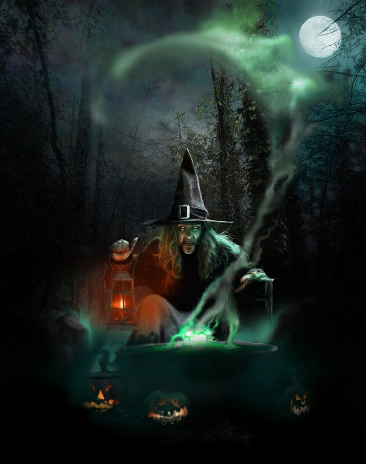 All Hallows Eve by ~spoofdecator on deviantART her face is very creepy