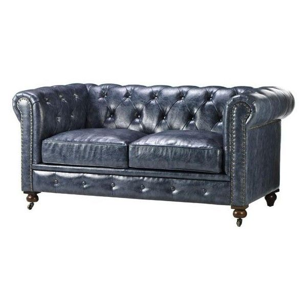 Gordon Tufted Sofa found on Polyvore featuring polyvore, home, furniture, sofas, tufted sofa, tufted chesterfield sofa, restoration hardware couch, chesterfield furniture and restoration hardware