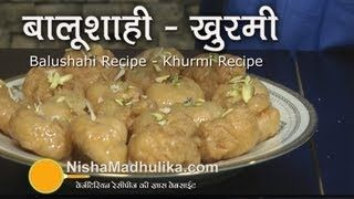 Balushahi Recipe - Khurmi Recipe, via YouTube.
