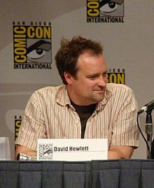 David Hewlett is an English-Canadian actor best known for his role as Dr. Meredith Rodney McKay on the science fiction television shows Stargate SG1, Stargate Atlantis and Stargate Universe, and his role as David Worth in Cube.