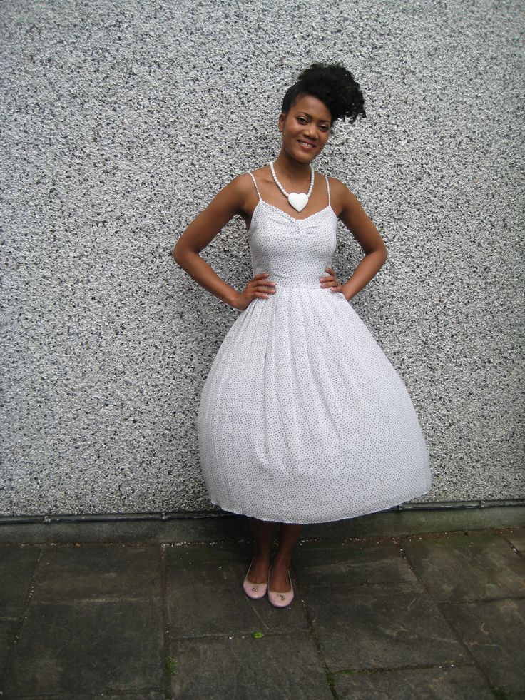A balloon effect from the windy day! Dress available on ASOS Marketplace