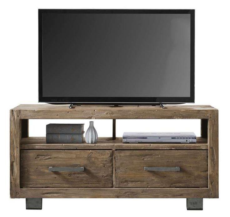 #prontowonen #droomwoonkamer TV-Dressoir Alezio pine antique grey - TV Dressoirs - Kasten