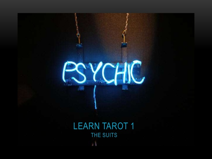 learn-tarot-1-the-suits by Energy Therapies via Slideshare