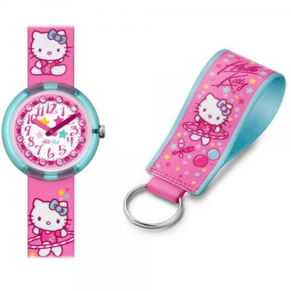 Para las más coquetas de la casa os proponemos este reloj Flik Flak de Hello Kitty, viene con un llavero de regalo y está de oferta en 44€; sin duda este reloj encantará a las más pequeñas. http://www.todo-relojes.com/detalle.asp?codigo=28186 #FlikFlak #HelloKitty #relojesniña #ofertasrelojes #todorelojes
