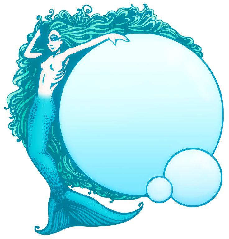Pretty Mermaid Clip Art