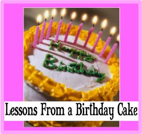 Lessons from a Birthday Cake: A #Bible #Object Lesson for #Elementary Children