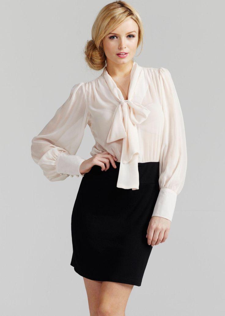Best 25+ Bow blouse ideas on Pinterest | Blouses, Summer ...