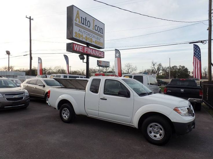 2014 Nissan Frontier 4x2 S 4dr King Cab 6.1 ft. SB Pickup 5A **FOR SALE** By Auto Icon - 423 East 29th Street Houston, TX