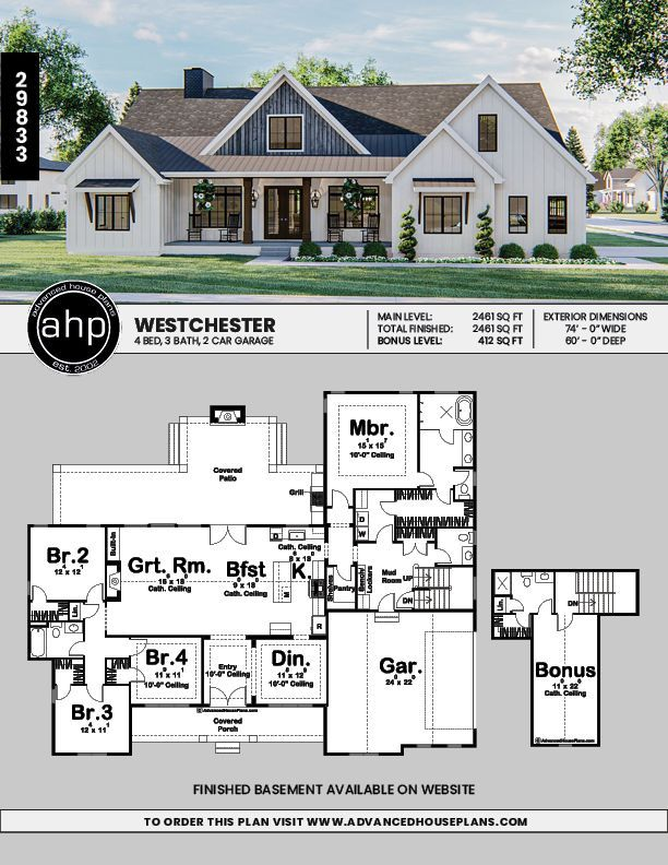 Future In 2020 Craftsman House Plans House Plans Farmhouse Modern Farmhouse Plans
