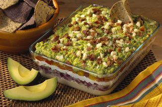 Layered Guacamole Dip with a New Twist, From the Kitchen of Rick Bayless Recipe on Food52, a recipe on Food52
