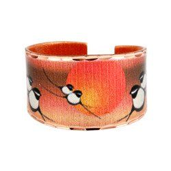 'Chickadee' Artist Collection Copper Ring