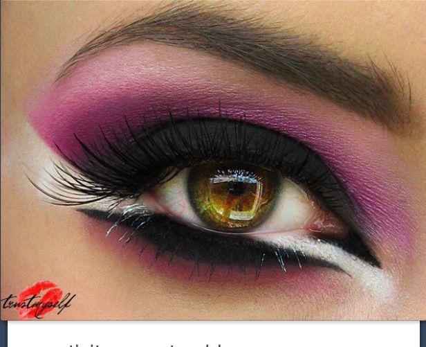 Unique Eye Makeup Costumes Amp And Crazy Makeup