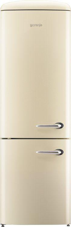 Kühl-Gefrier-Kombination ONRK193C-L  Endlich mal ein Retro-Kühlschrank, der auch mit moderner Technik aufwarten kann. z.B. 0°Fach, spezielles Gemüsefach und ein leiser Kompressor. Optik ist nicht alles, liebes Team von Smeg... ;)