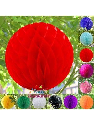 Petek Süs Kırmızı Küçük boy (30 cm)