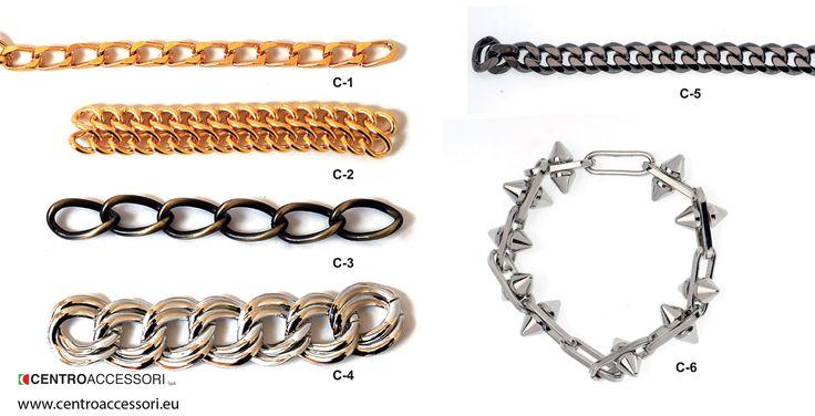 Catene, esempi. Chains, examples. #CentroAccessori