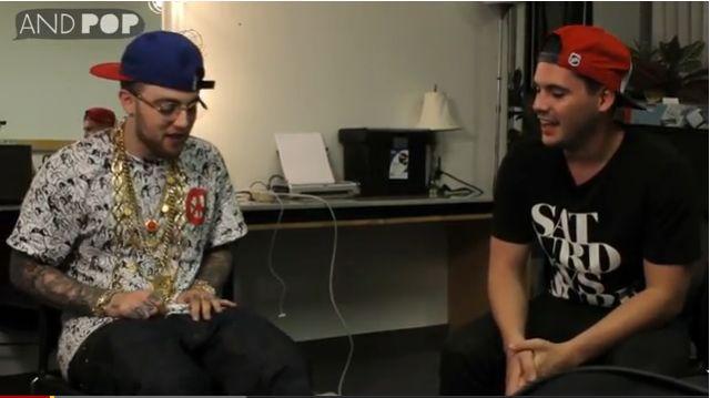 Mac Miller Is A Fan Of Drake (Video)