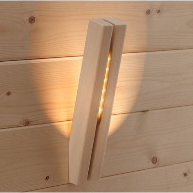 Infraworld LED Lampe Bianco Birke Saunaleuchte Saunalicht Saunazubehör S2294 in Heimwerker, Sauna & Schwimmbecken, Saunaeinzelteile & -zubeh…