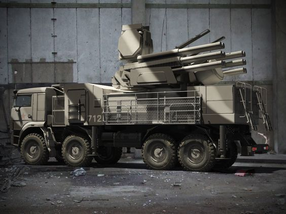 Pantsir-S1/S2 mobile air defense system | Thai Military and Asian Region