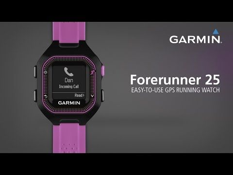 Garmin Forerunner 25 GPS Watch with Heart Rate Monitor at SwimOutlet.com - Free Shipping