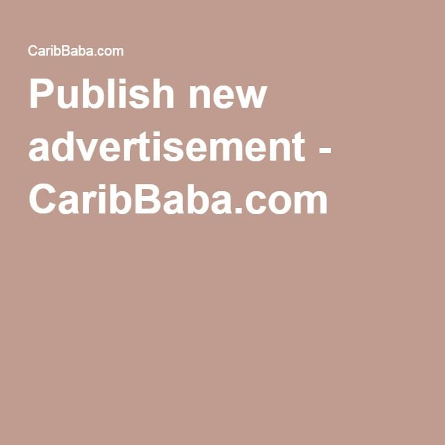 Publish new advertisement - CaribBaba.com