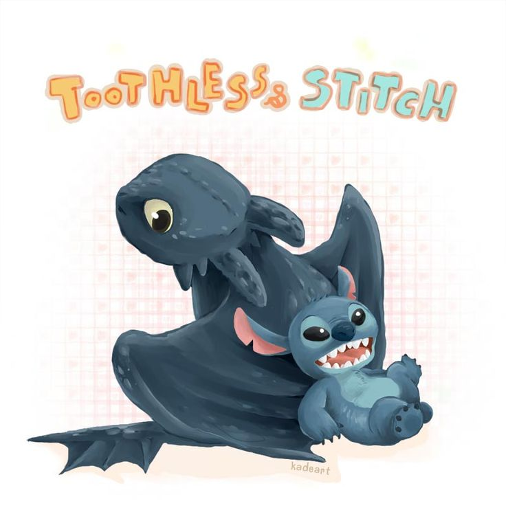 53 best Stitch  Toothless images on Pinterest  Drawings