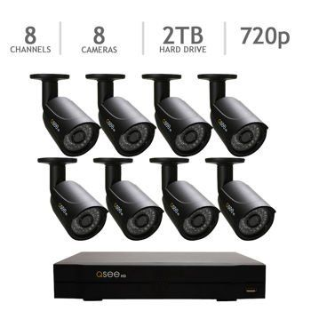 Special Offers - Q-See QC958-8Y5-2 8 Channel DVR Security System 8 HD 720p Cameras 2TB HDD  QC958-8Y5-2 (Black) - In stock & Free Shipping. You can save more money! Check It (June 14 2016 at 06:46AM) >> http://smokealarmsusa.net/q-see-qc958-8y5-2-8-channel-dvr-security-system-8-hd-720p-cameras-2tb-hdd-qc958-8y5-2-black/