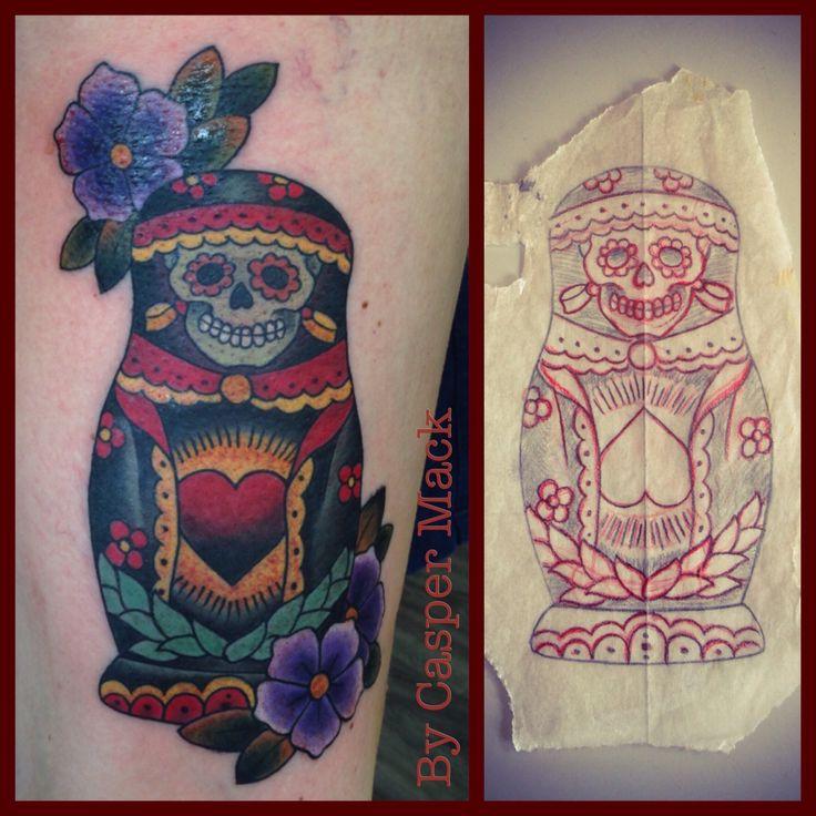 Babushka tattoo