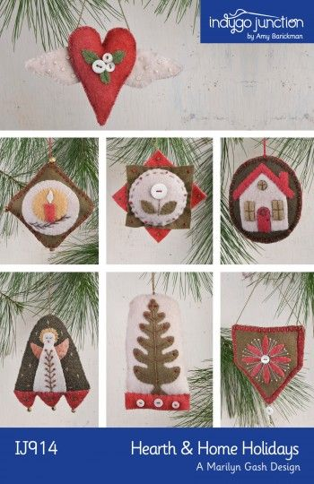 81 best Handmade Christmas & Holiday Decor - Sewing Patterns images ...