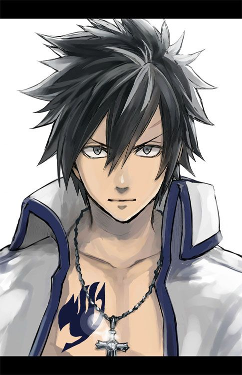 Gray Fullbuster is my favorite anime character :3>>>> LET IT GOOOOO LET IT GOOOOO