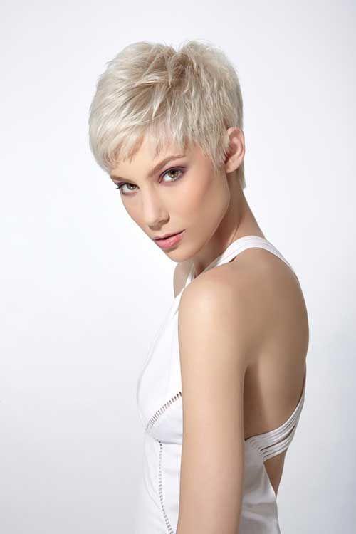 Short Pixie Haircut For Fine Hair Color On Fire Pinterest