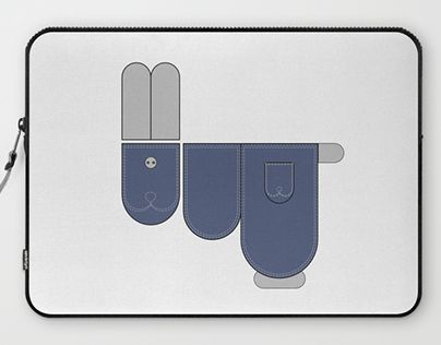 """Check out new work on my @Behance portfolio: """"Funny jeans Bunny."""" http://be.net/gallery/51744527/Funny-jeans-Bunny"""