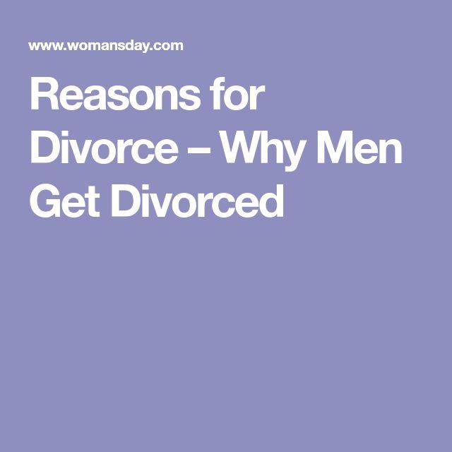 Reasons for Divorce – Why Men Get Divorced