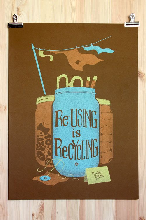 Indeed.: Recycling Poster, Garden Posters, Design Ideas, Community Gardens, Victory Gardens, Diy