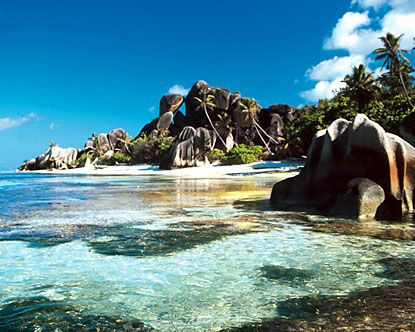 This has been my #1 dream destination since I saw it on the travel channel in 2003. The Seychelles...breathtaking right?