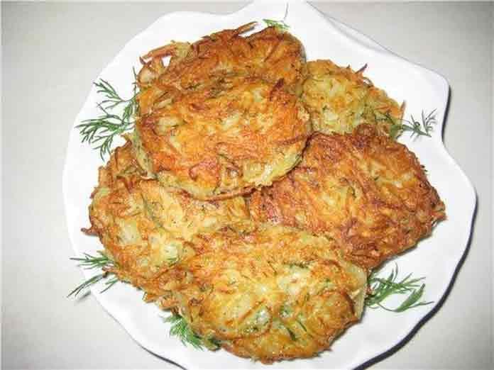 Картофельные драники простой рецепт с яйцом | Готовим рецепты