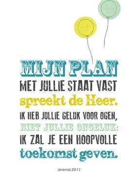 Poster 'Plan'