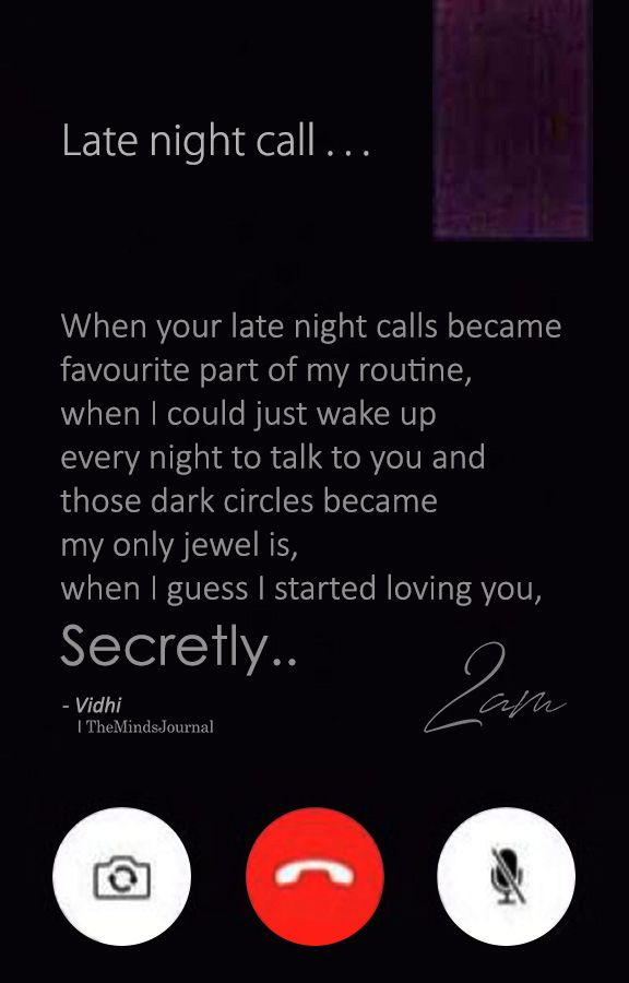 When Your Late Night Calls Became Favourite Part Of My Routine Night Love Quotes Quotes Deep Feelings Quotes