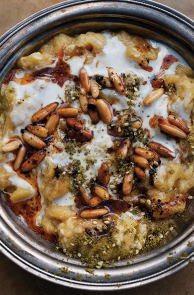 Party Time! Create a Mezze Menu with London Celebrity Chef Yotam Ottolenghi - Zucchini Baba Ghanoush  - from InStyle.com