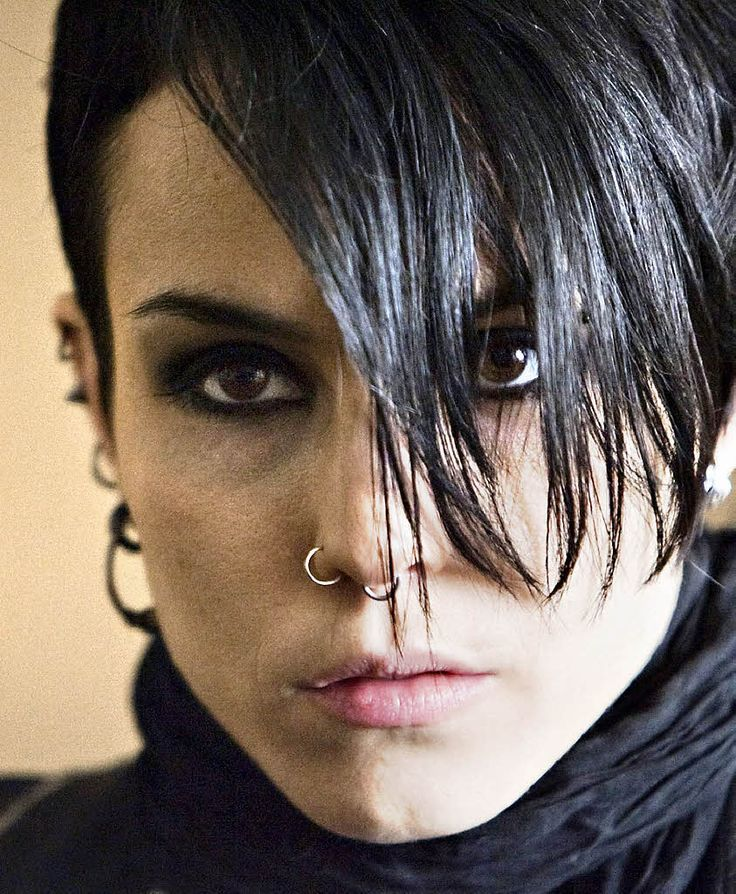 Noomi Rapace- the original Girl with the Dragon Tatoo!