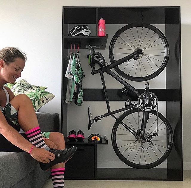 The 25 best indoor bike storage ideas on pinterest bike for Indoor cycle design
