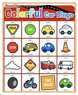 Road trip printables: For Kids, Trip Printables, Road Trips, Car Bingo, Roads